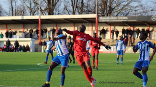 Match Report vs Thamesmead Town