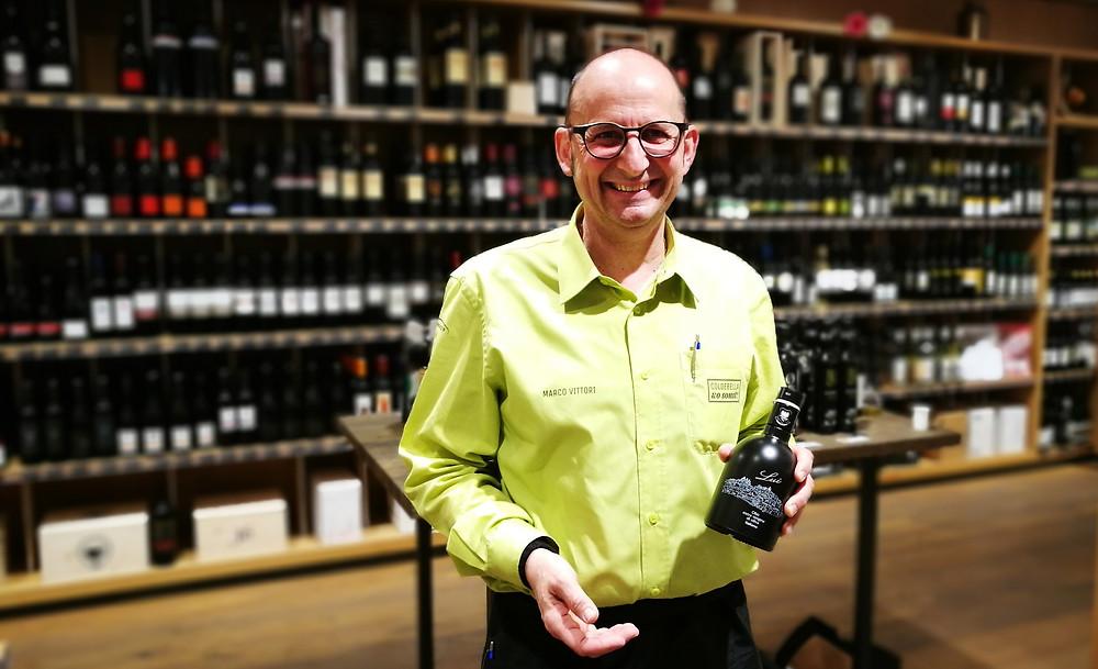 Marco Vittori vom Dorfplatz 9 - G. Coldebella AG - Olivenöl evoo.expert