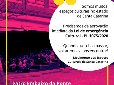 SOMOS ESPAÇOS DE ARTE E CULTURA!