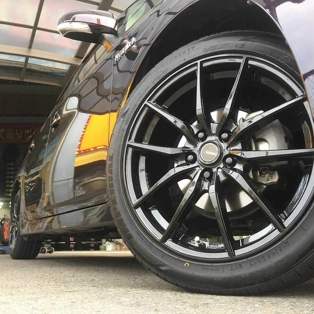 トヨタ 30 プリウス ホットスタッフ G-SPEED G02 スポーク 17インチ