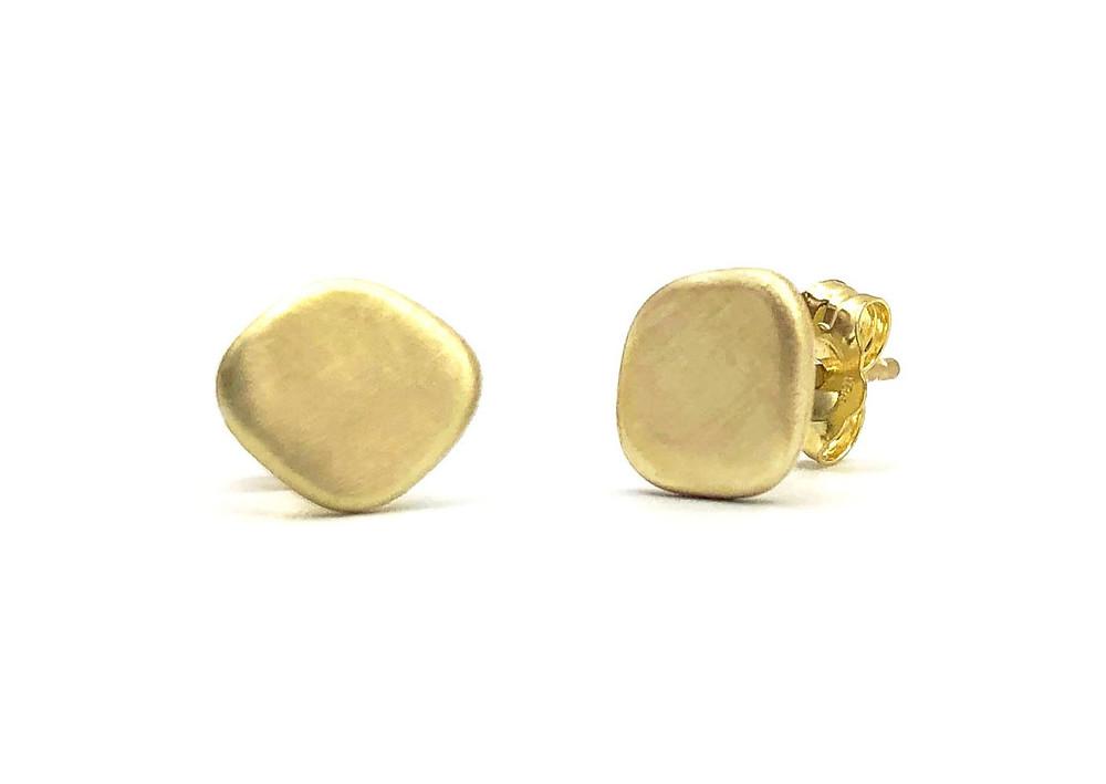 Azores Stud Earrings in 18k Gold