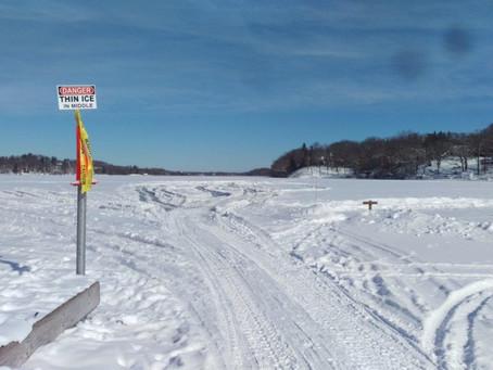 January 27 2019 Ice Dive on Lake Beulah