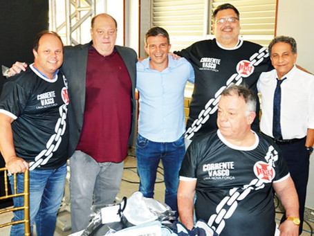 """Corrente Vasco"" reúne apoiadores de Leven Siano à presidencia do cruzmaltino"