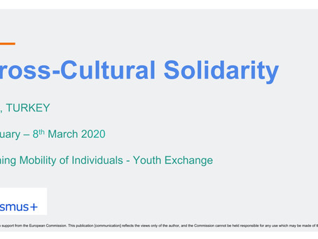 Cross-Cultural Solidarity: applications open NOW for participants (fully funded)