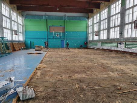 """В физкультурно - оздоровительном комплексе """"Росток"""" стартовал капитальный ремонт"""