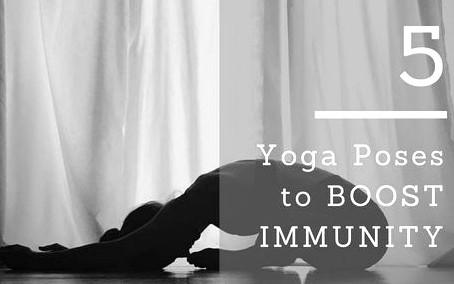 5 Immunity boosting stretches!