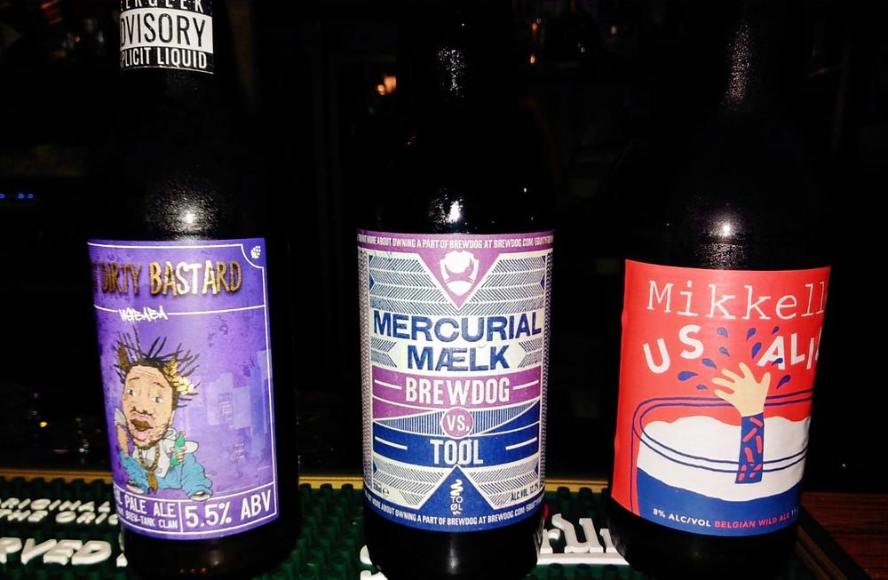 Wide beer selection in Rooster Pub Makarska