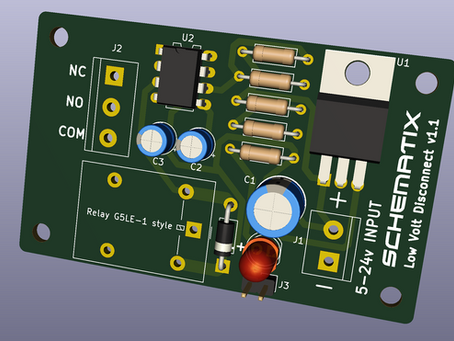 New project! A low-volt-disconnect