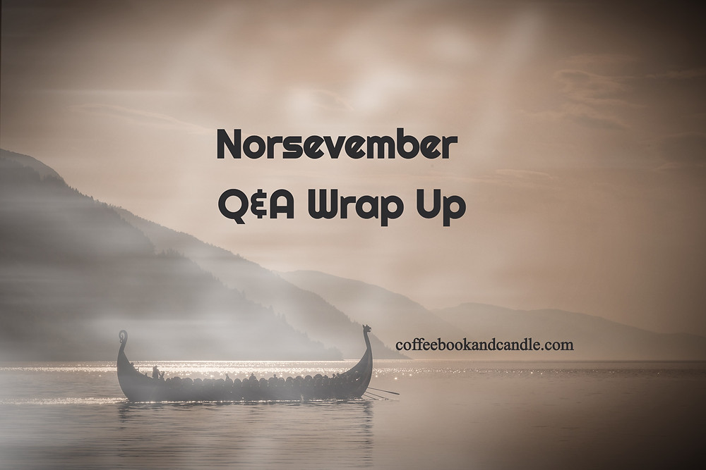 Coffee, Book, & Candle Norsevember Q&A Wrap Up of Norse favorites