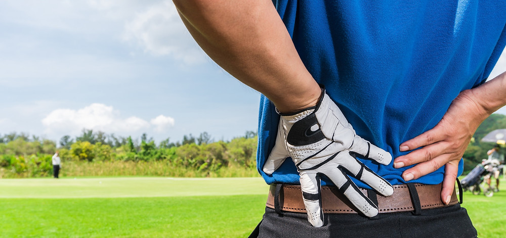 Back pain from golfing