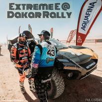 Pro Rally Driver Ken Block Shreds Saudi Desert With Extreme E SUV