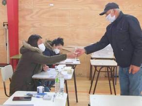 Municipalidad brindó cobertura permanente al Plebiscito para impedir contagios por COVID 19