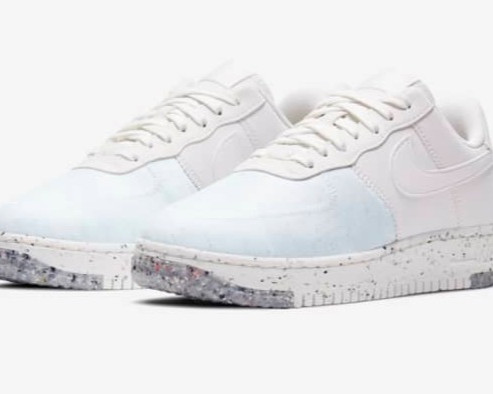 "Women's Air Force 1 Crater ""Summit White"""
