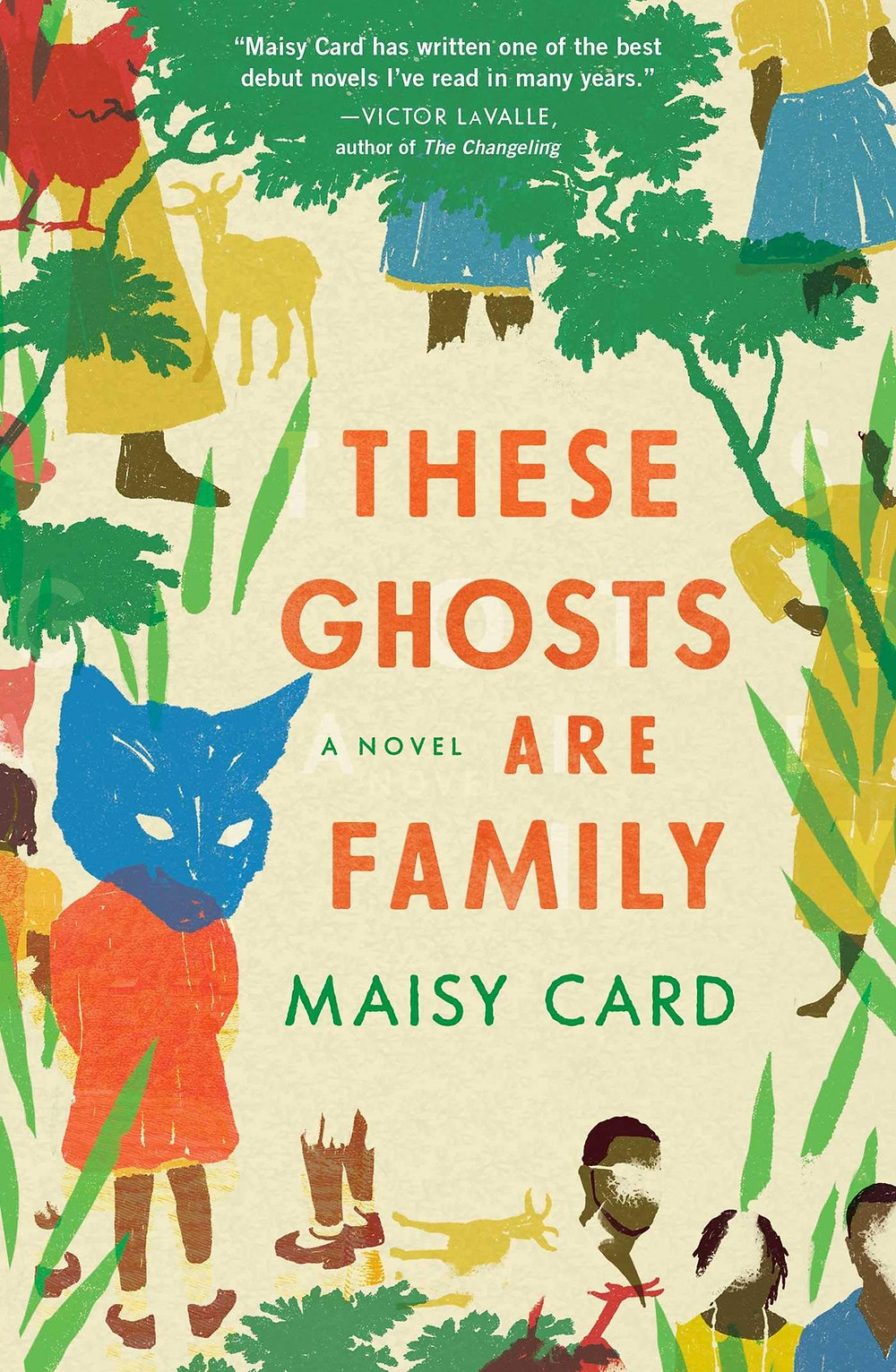 These Ghosts Are Family by Maisy Card : the book slut book reviews thebookslut