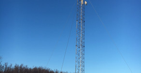 Vedlikehold av eldre radiomast