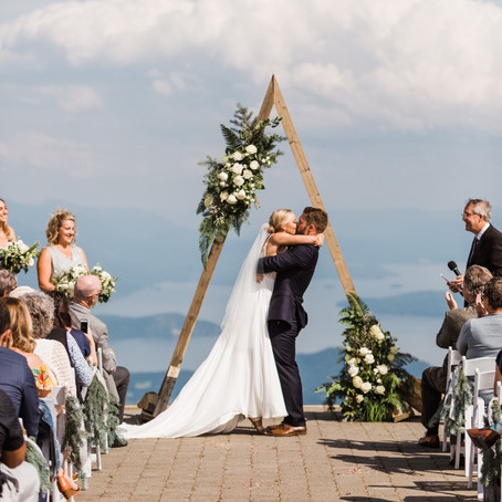 Kelsey and Ian-Mountain top wedding