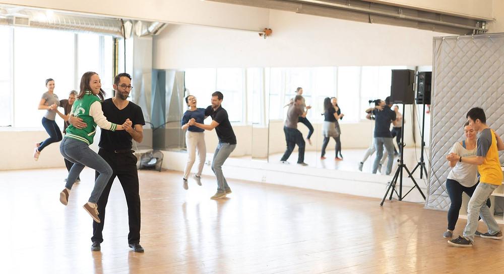 lindy hop dance class toronto