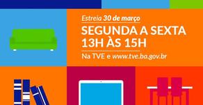 TVE exibe conteúdos para estudantes dos ensinos Fundamental e Médio.