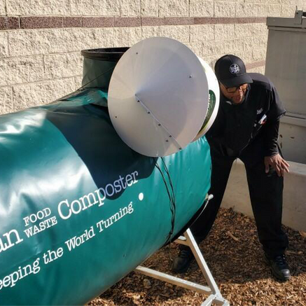 On-site Composting Enables Organizations to Live Their Values