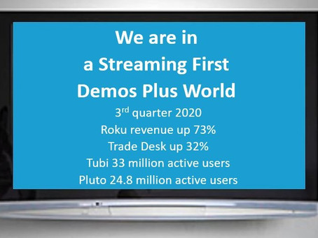 Need more evidence the shift to streaming has occurred. Look to 3rq quarter earnings & active users
