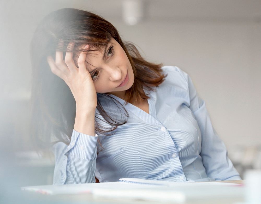 picture of frustrated woman