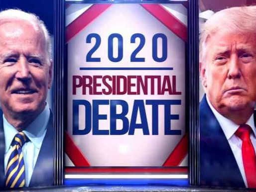 Pivotal first presidential debate between Trump and Biden