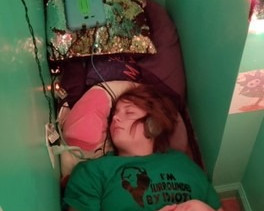 Learn How Natalie Is No Longer Sleeping In Her Closet