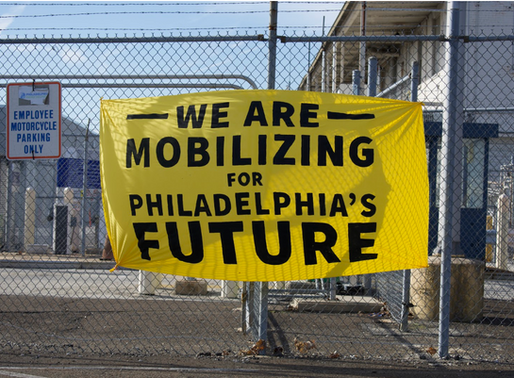 Philly Thrive vs. The PES oil refinery: The Rally and People's Confirmation.