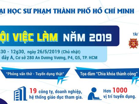 Ngày hội việc làm HCMUE 26/5/2019