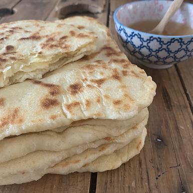 Msemen, crêpes feuilletées Marocaine