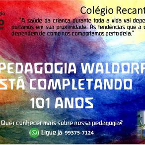 Setembro de 2020 - 101 anos da Pedagogia Waldorf