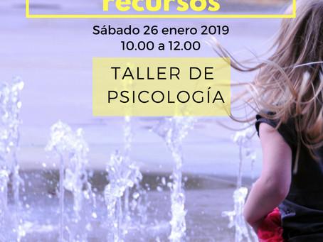 """TALLER """" Convierte tus límites en recursos """" ( Murcia, 26 enero 2019 )"""