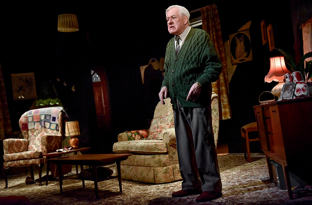 Kenneth Alan Taylor as Leslie in Jimmie Chinn's A Different way Home at Oldham Coliseum. All pics: Chester Joel Fildes