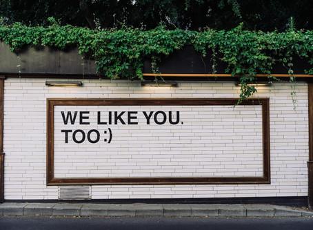 We Like You Too!