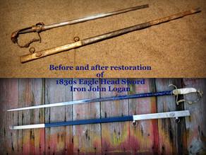 Eagle Head Sword Restoration