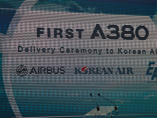 Korean Air # Delivery of 1st A380-800