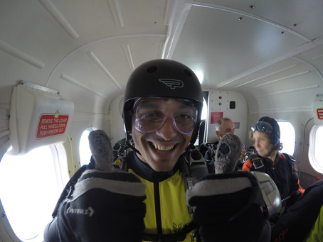 I`m now a A-licens skydiver!