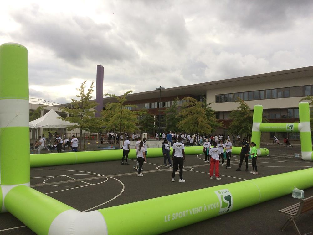 Le Shizen-Sport-Truck apporte les valeurs éducatives du sport pour les établissements scolaires