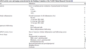 Grading and Staging NAFLD