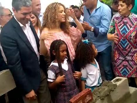 Shakira ya está en Cartagena para liderar evento de nuevo megacolegio