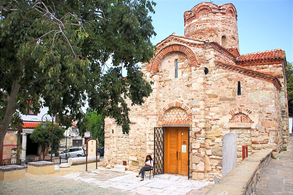 Nessebar Bulgarie Church of St John Aliturgetos