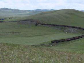 超長蛇の列車