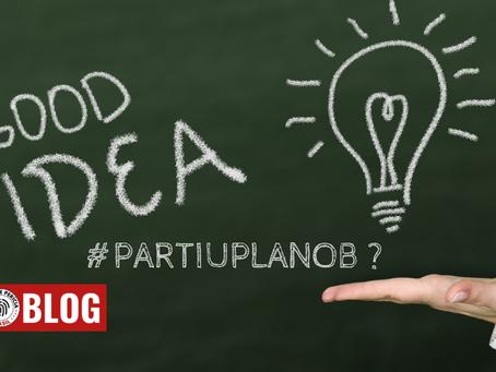 Se o plano A não der certo, #partiuplanoB  ?