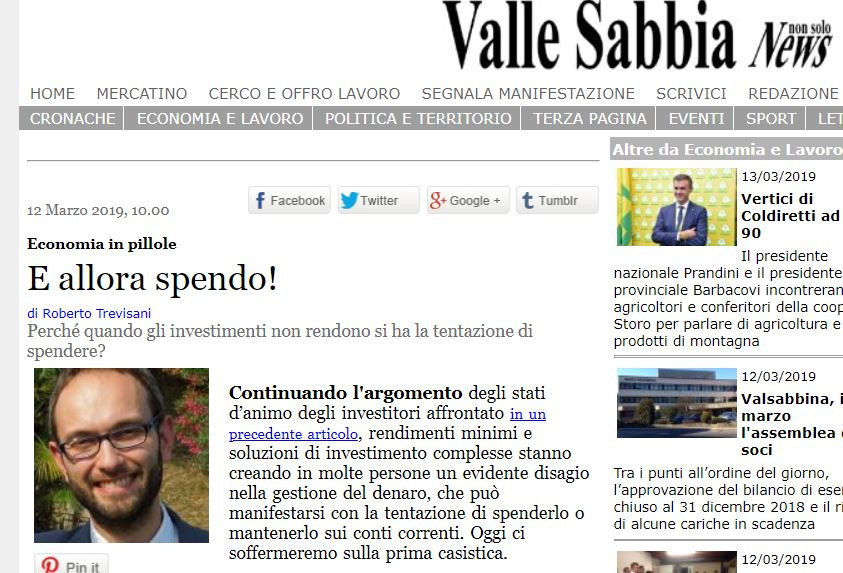 Articolo Vallesabbianews economia finanza pianificazione
