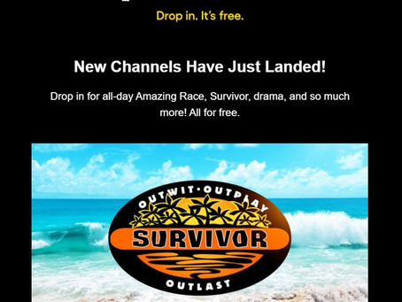 Will traditional TV and Cable survive when CTV channels are adding shows live Survivor?