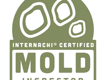WE ARE NOW MOLD INSPECTION CERTIFIED