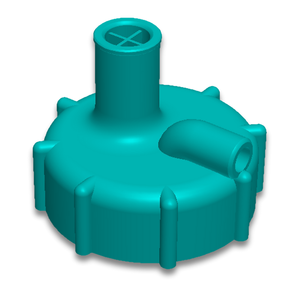 Water pour adaptor for sofnolime jugs