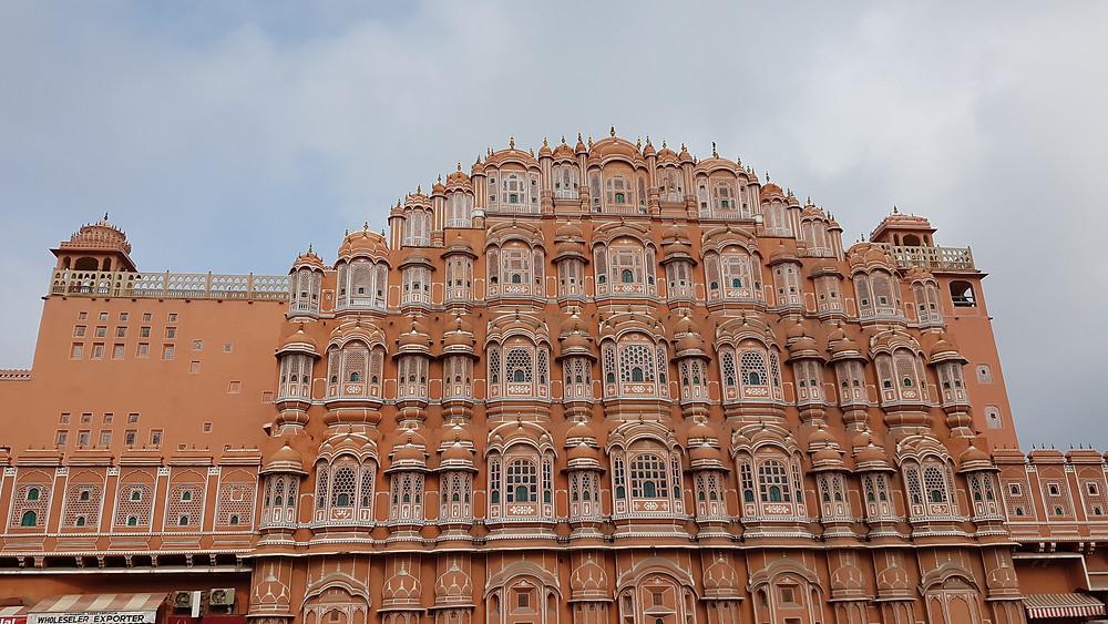 India, Jaipur, Wind Palace, Hawa Mahal