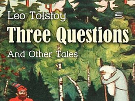 톨스토이의 '세 가지 의문'