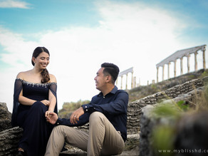 { Lachi + Dianne } Fortune Island Prenup | Destination Pre Wedding Photographer Philippines